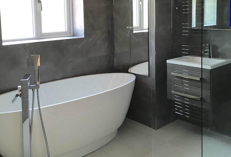 Four Oaks Family Bathroom Design & Fit