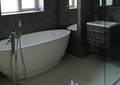 New Bathroom • Four Oaks