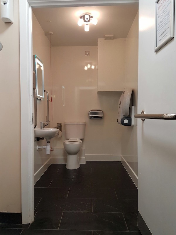 Black Root Bistro Public Toilet